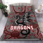 St. George Dragons Bedding Set Unique Indigenous