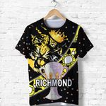 Richmond Premier T Shirt Tigers Dotted