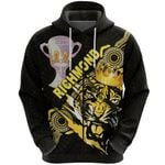 Richmond Premier Zip Hoodie Power Tigers Indigenous