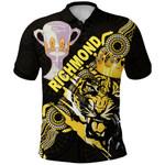 Richmond Premier Polo Shirt Power Tigers Indigenous