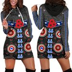 Australia Indigenous Women Hoodie Dress New Zealand Maori Kiwi | 1st New Zealand