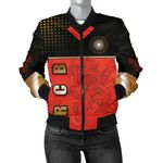 Bangalore Cricket India Women Bomber Jacket Royal Challengers Front | rugbylife.co