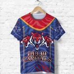 India Premier Polo Shirt Cricket Delhi Capitals Version DC Front | rugbylife.co
