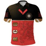 Bangalore Cricket India Polo Shirt Royal Challengers Front   rugbylife.co