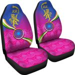 India Cricket Car Seat Covers Rajasthan Royals Version RR | rugbylife.co