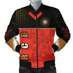 Bangalore Cricket India Men Bomber Jacket Royal Challengers Front | rugbylife.co
