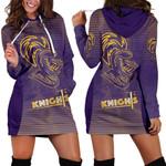Kolkata Cricket Women Hoodie Dress Knight Version KKR | rugbylife.co