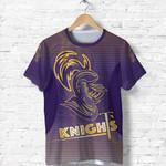 Kolkata Cricket T Shirt Knight Version KKR Front | rugbylife.co