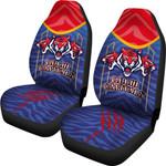 India Premier Car Seat Covers Cricket Delhi Capitals Version DC | rugbylife.co
