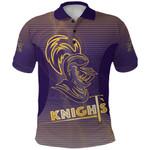 Kolkata Cricket Polo Shirt Knight Version KKR Front | rugbylife.co