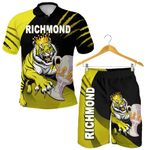 Combo Polo Shirt and Men Short Richmond Premier Tigers