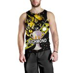 Richmond Premier Men Tank Top Tigers Dotted