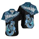 Lapras Maori Manaia Hawaiian Shirt Paua Shell TH5