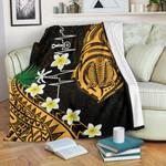 Heartbeat Polynesian Premium Blanket Plumeria Turtle | 1st New Zealand