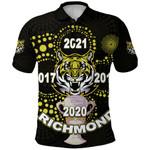 Richmond Premier Polo Shirt Legendary Tigers Indigenous