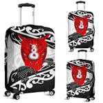 Maori Luggage Covers Heart Kowhaiwhai With Pikorua Twist K12