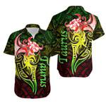 Taurus zodiac Mix Polynesian Tattoo Hawaiian Shirt Rasta