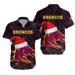 Brisbane Hawaiian Shirt Broncos Christmas