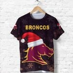 Brisbane T Shirt Broncos Christmas