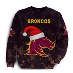 Brisbane Sweatshirt Broncos Christmas K8