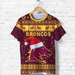 Brisbane T Shirt Broncos Christmas Unique Vibes - Maroon