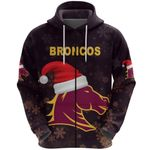 Brisbane Zip Hoodie Broncos Christmas