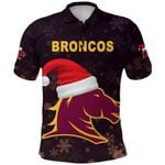 Brisbane Polo Shirt Broncos Christmas
