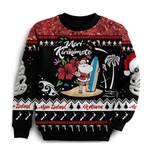 New Zealand Christmas Sweatshirt Summer Vibe K5
