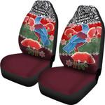 Tui Bird Mix Pohutukawa Car Seat Covers Twist Maori | 1st New Zealand