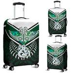 Manta Ray With Paua Shell Luggage Covers Fern Maori Pekapeka | 1st New Zealand