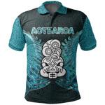 Aotearoa Tiki Shirt With Fern Green