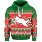 Rabbitohs Christmas Hoodie