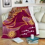 Broncos Super Premium Blanket Indigenous Brisbane | 1st New Zealand