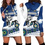 Bulldogs Women Hoodie Dress Special Indigenous | 1st New Zealand