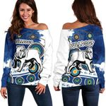 Bulldogs Off Shoulder Sweater Special Indigenous | 1st New Zealand