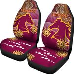 Broncos Super Car Seat Covers Indigenous Brisbane | 1st New Zealand