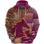 Broncos Super Zip Hoodie Indigenous Brisbane | 1st New Zealand