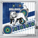 Bulldogs Shower Curtain Special Indigenous | 1st New Zealand