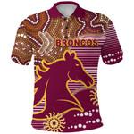 Broncos Super Polo Shirt Indigenous Brisbane   1st New Zealand