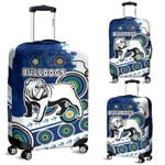 Bulldogs Luggage Covers Special Indigenous   1st New Zealand