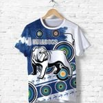 Bulldogs T Shirt Special Indigenous   1st New Zealand