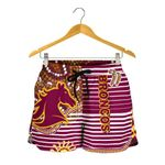 Broncos Super Women Shorts Indigenous Brisbane | 1st New Zealand
