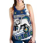 Bulldogs Women Racerback Tank Special Indigenous | 1st New Zealand