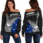New Zealand Hockey Women's Off Shoulder Sweater