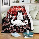 Dragons Premium Blanket St. George Indigenous Limited 1   1st New Zealand