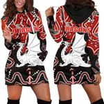 Dragons Women Hoodie Dress St. George Indigenous Limited 1 | 1st New Zealand