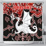 Dragons Shower Curtain St. George Indigenous Limited 1 | 1st New Zealand