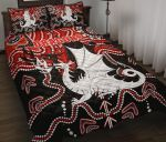 Dragons Quilt Bed Set St. George Indigenous Limited 1 | 1st New Zealand