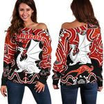 Dragons Off Shoulder Sweater St. George Indigenous Limited 1 | 1st New Zealand