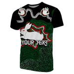 (Custom Personalised)Rabbitohs T-Shirt Aboriginal 2
